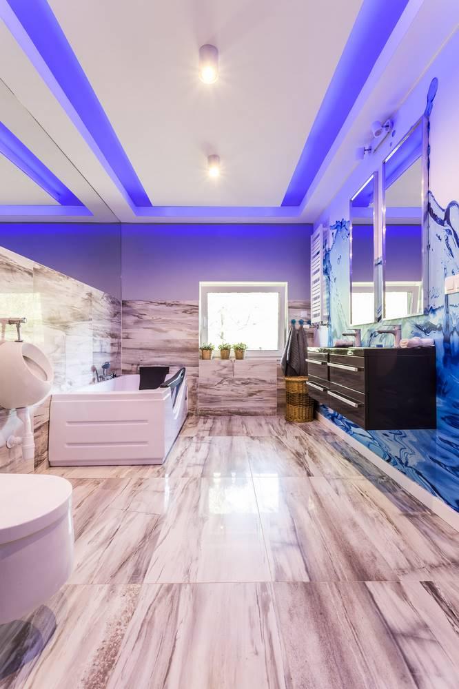 łazienka z kamienia